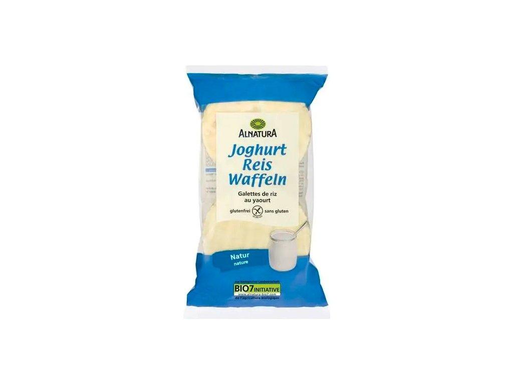 Rýžové chlebíčky s jogurtovou polevou ALNATURA, 100 g