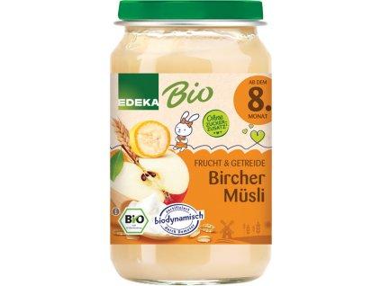 Ovocný příkrm BIO müsli & ovoce EDEKA, 190 g