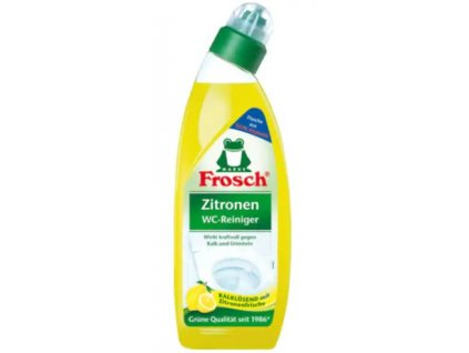 WC čistič citrón FROSCH, 750 ml