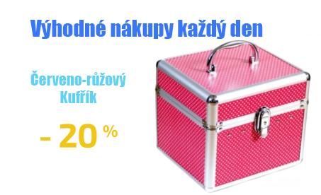 Stříbrný kufřík