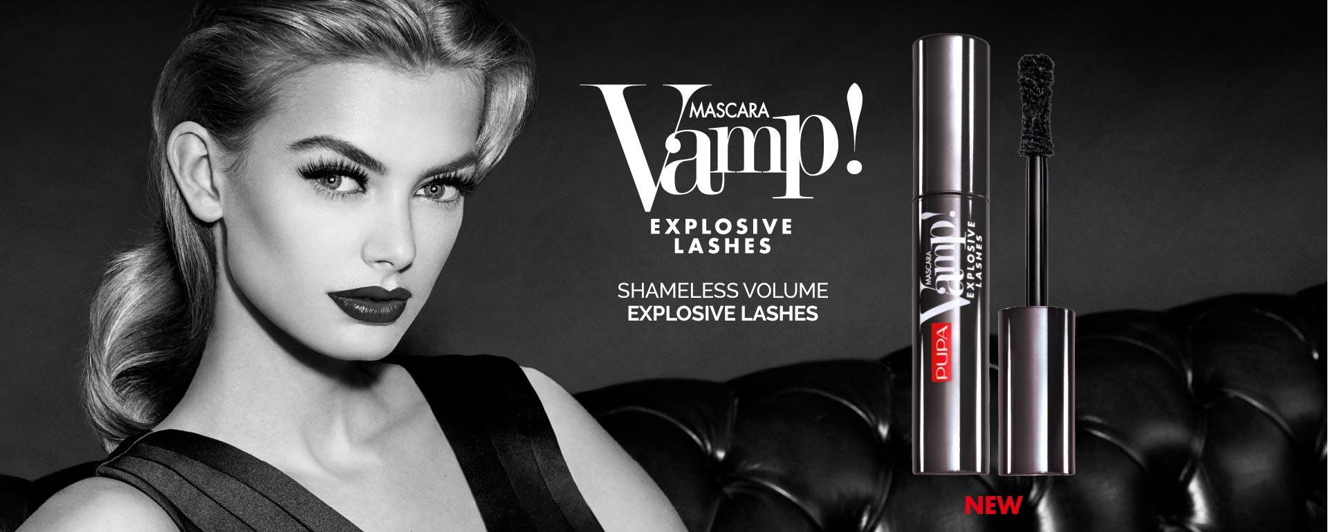 Pupa Mascara Vamp Explosive Lashes