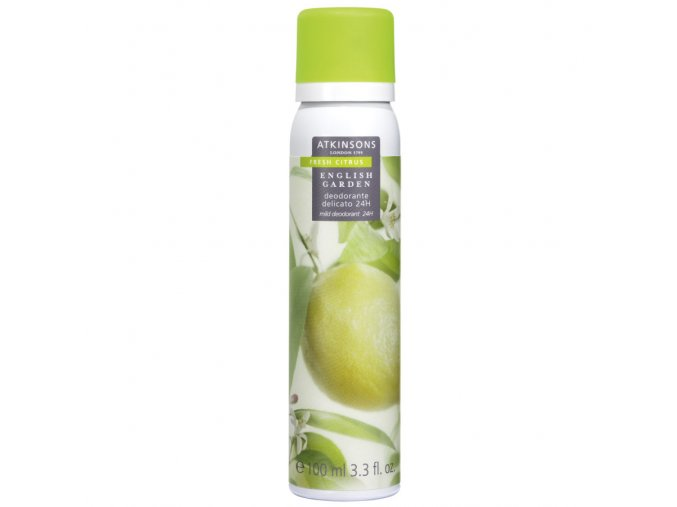 Atkinsons English Garden Fresh Citrus Deodorant Spray  100 ml