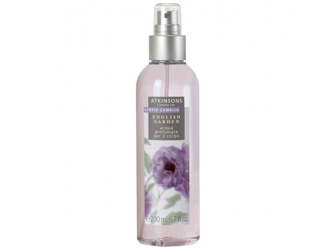 Atkinsons English Garden Gentle Camelia Tělový olej  200 ml