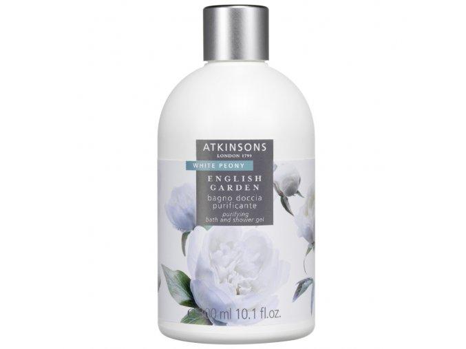 Atkinsons English Garden White Peony Sprchový gel  300 ml