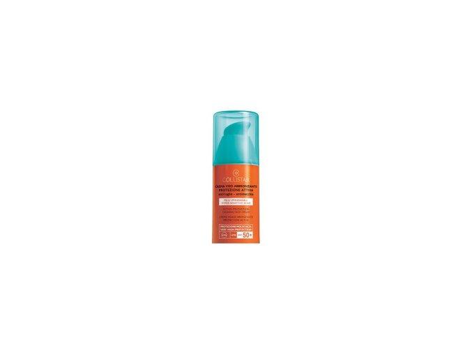 Collistar Active Protection Sun Face Cream SPF 50+ 50 ml  Opalovací krém na obličej pro citlivou pleť