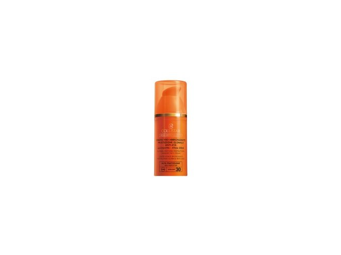 Collistar Anti Age Protective Tanning Face Cream SPF 30 50 ml  Opalovací krém na obličej proti vráskám