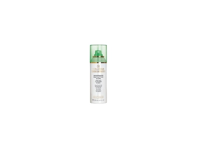 Collistar Deodorant Multi-Active® 24 hours Dry Spray with cotton microfibres - alcohol free , no aluminum salts  125 ml