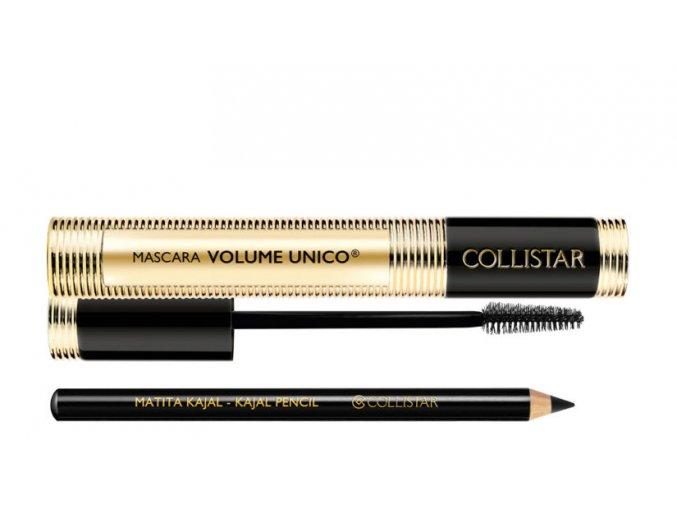 Collistar Mascara Volume Unico Intense Black Řasenka + Matita Kajal Pencil kajalová tužka na oči  13 ml