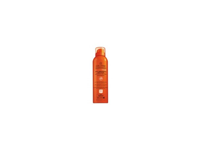 Collistar Moisturizing Tanning Spray SPF 30 200 ml  Opalovací hydratační sprej pro rychlé opálení + kosmetická taštička zdarma