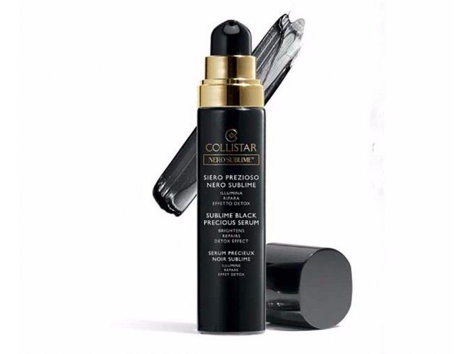 Collistar Nero Sublime Black Precious Serum 30 ml  Blahodárné sérum s ušlechtilou černí, rozjasňujícím účinkem