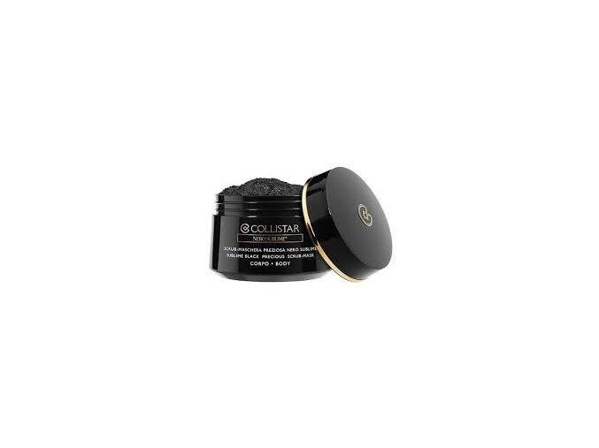 Collistar Nero Sublime Sublime Black Precious Scrub Mask Body 450 g  Exfoliační černá tělová maska