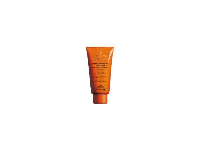 Collistar Protective Tanning Cream SPF 15 150 ml  Opalovací krém na obličej a tělo