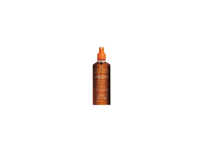 Collistar Supertanning Dry Oil SPF 6 200 ml  Suchý olej pro rychlé opálení