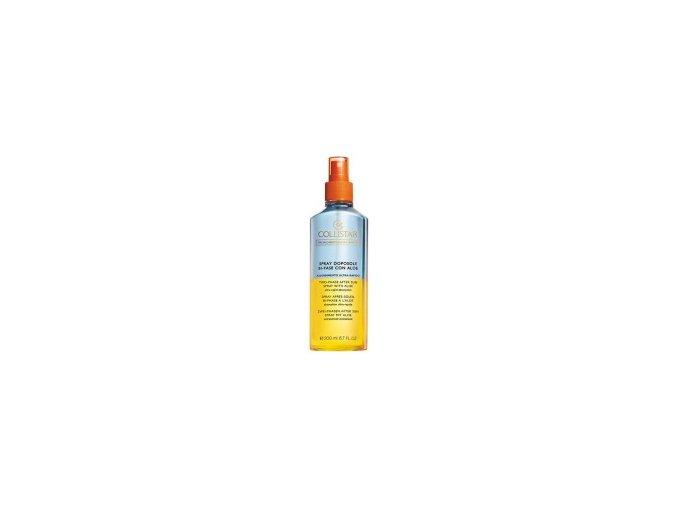 Collistar Two Phase After Sun Spray With Aloe 200 ml  Dvoufázový tělový olej po opalování s Aloe Vera
