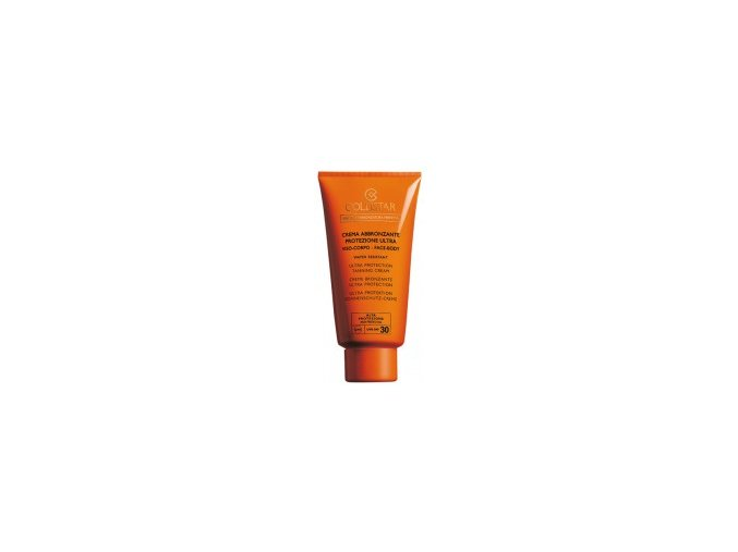 Collistar Ultra Protection Tanning Cream SPF 30 150 ml  Opalovací krém na obličej a tělo