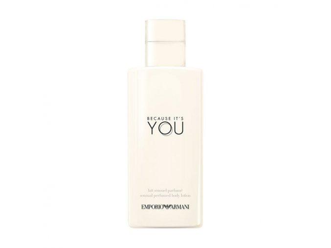 Giorgio Armani Because Its You Tělové mléko dámské  200 ml