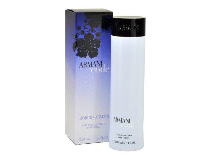 Giorgio Armani Code Tělové mléko dámské  Tento produkt se již nevyrábí.
