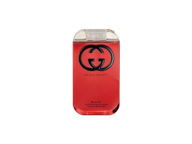 Gucci Guilty Black Pour Femme Sprchový gel dámský  200 ml