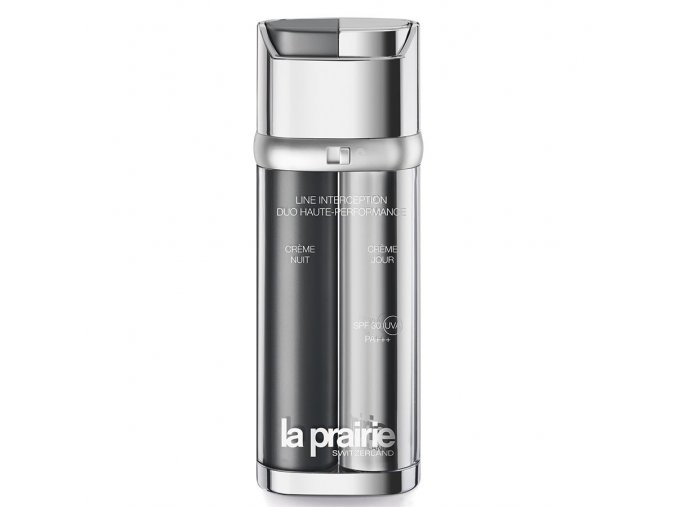 La Prairie Line Interception Power Duo 2 x 25 ml  protivráskový denní a noční krém 2 x 25 ml