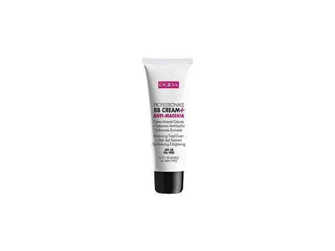 Pupa BB Cream + Dark Spot Treatment SPF 30 50ml  Pupa BB krém proti pigmentovým skrvnám SPF 30