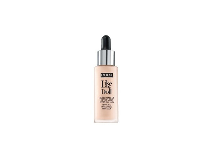 Pupa Like A Doll Perfecting Make-up Fluid 30 ml  Tekurý make-up s nahým efektem