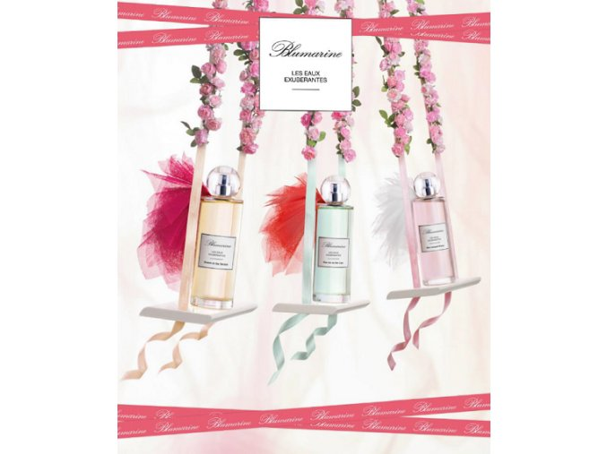 Blumarine Les Eaux Exuberantes Mon Bouquet Blanc toaletní voda dámská  + 3 vzorky Blumarine + čelenka Collistar