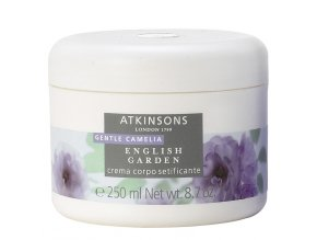 Atkinsons English Garden Gentle Camelia Tělový krém  250 ml