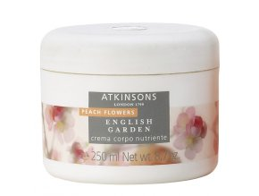 Atkinsons English Garden Peach Flowers Tělový krém  250 ml