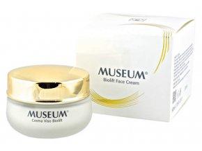 Bioliftingový krém na obličej z extra panenského olivového oleje Museum  50 ml