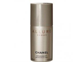 Chanel Allure Homme Deodorant sprej pánský 100 ml  + vzorek Chanel k objednávce ZDARMA