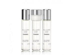 Chanel Allure Homme Sport Eau Extreme parfémovaná voda pánská  3x20 ml náplně + vzorek CHANEL k objednávce zdarma