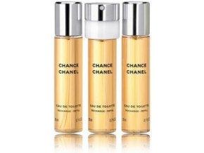 Chanel Chance toaletní voda dámská 60 ml  3 x 20 ml náplně