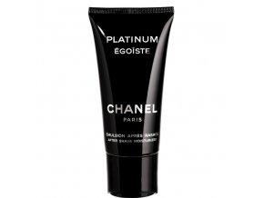 Chanel Egoiste Platinum Balzám po holení pánský 75 ml  + vzorek Chanel k objednávce ZDARMA