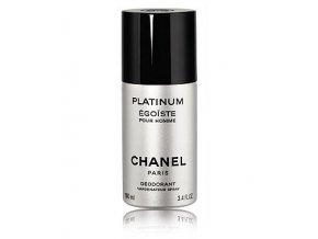 Chanel Egoiste Platinum Deospray pánský 100 ml  + vzorek Chanel k objednávce ZDARMA
