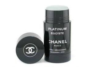 Chanel Egoiste Platinum Deostick pánský 75 ml  + vzorek Chanel k objednávce ZDARMA
