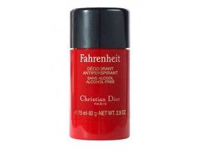 Christian Dior Fahrenheit Deostick pánský  75 ml