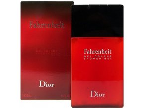 Christian Dior Fahrenheit Sprchový gel pánský  200 ml