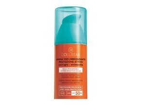 Collistar Active Protection Sun Face Cream SPF 50+ 50 ml (Crema Viso Abbronzante Protezione Attiva)  50 ml