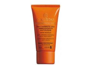 Collistar Anti Wrinkle Tanning Face Treatment SPF 6 50  ml (Trattamento Viso Abbronzante Antirughe)  50 ml