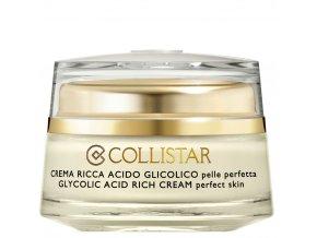 Collistar Attivi Puri Glycolic Acid Rich Cream krém s kyselinou glykolovou  50 ml