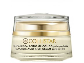 Collistar Pure Actives Glycolic Acid Rich Cream 50 ml  Krém s kyselinou glykolikovou