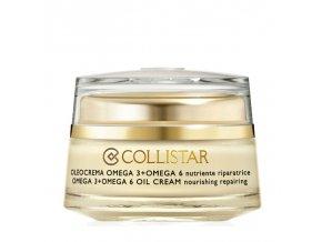 Collistar Attivi Puri Omega 3 + Omega 6 Oil Cream výživný krém  50 ml