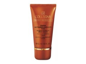 Collistar Face Self Tanning Cream (Crema Autoabbronzante Viso)  50 ml