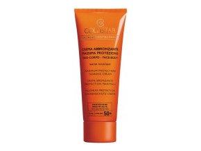 Collistar Maximum Protection Tanning Cream SPF 50+ 100 ml  Opalovací krém na obličej a tělo