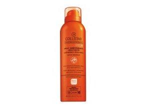 Collistar Moisturizing Tanning Spray SPF 10 200 ml (Spray Abbronzante Idratante applicazione ultra-rapida)  200 ml