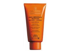 Collistar Protective Tanning Cream face body SPF 10 150 ml (Crema Abbronzante Protettiva viso e corpo)  150 ml
