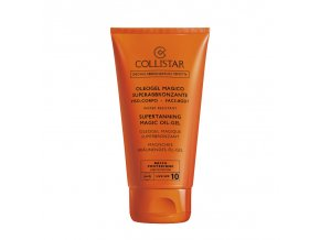 Collistar Supertanning Magic Oil Gel SPF 10 150 ml (Oleogel Magico Superabbronzante)  150 ml