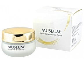 Hydratační krém na citlivou pokožku z extra panenského olivového oleje Museum  50 ml