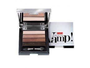Pupa Oční stíny s efektem tekutého prášku Vamp Palette 4 Eyeshadow 001