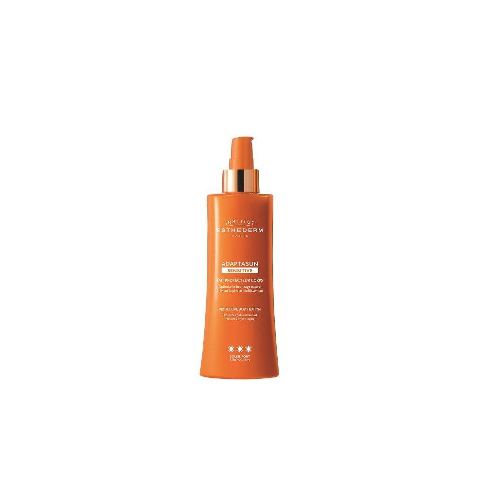 adaptasun sensitive skin body milk sun extreme telove mleko pro citlivou plet extremni slunko